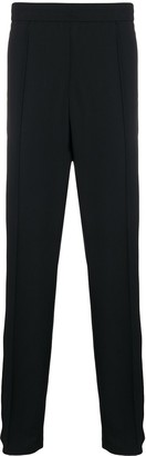 Valentino logo detail straight-leg trousers