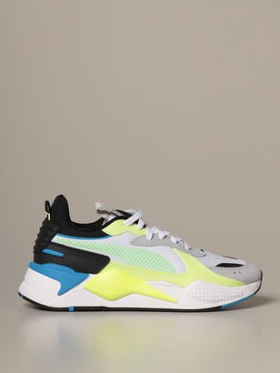 Puma Rs-x Drive Mesh And Synthetic Leather Sneakers