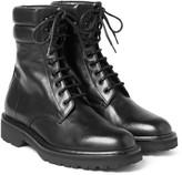 Saint Laurent - Leather Combat Boots