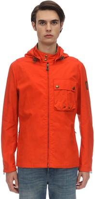 Belstaff Wing Waxed Hooded Cotton Jacket