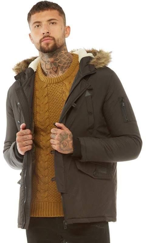17cd6d4850bb Brave Soul Black Clothing For Men on Sale - ShopStyle UK