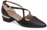 AGL Women's Split Heel D'Orsay Pump