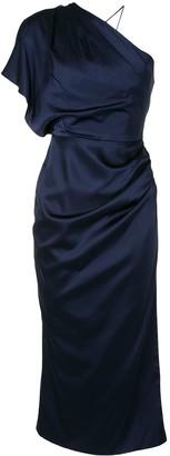 Manning Cartell Australia Draped One-Shoulder Dress
