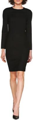 SUISTUDIO Carly Wool Blend Sheath Dress