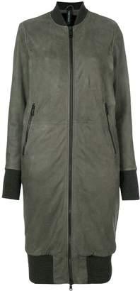 Giorgio Brato longline bomber jacket