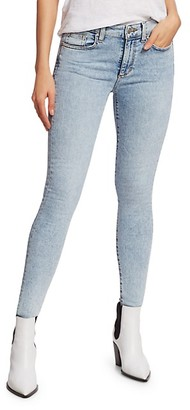 Joe's Jeans The Icon Mid-Rise Distressed-Ankle Skinny Jeans