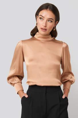 Trendyol Button Shoulder Detailed Blouse Pink