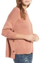 Madewell Women's Brownstone Side Button Sweater