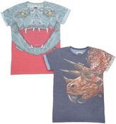 Madson Discount Set Of 2 Croc & Dino Jersey T-Shirts