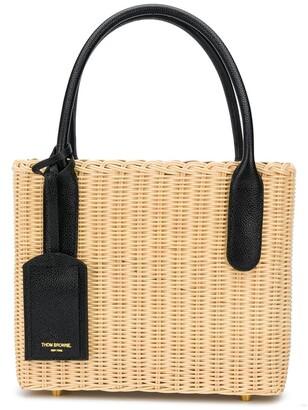 Thom Browne Drawstring-Fastening Basket Bag