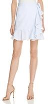Aqua Striped Ruffle Skirt - 100% Exclusive