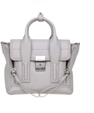 3.1 Phillip Lim Phillip Lim Pashli Mini Gray Leather Bag