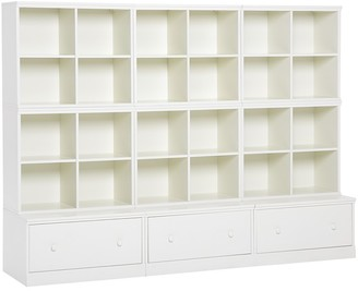 Pottery Barn Kids Cameron 6 Cubby & 3 Drawer Base Storage System