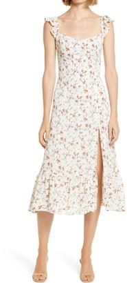 Reformation Bondi Floral Midi Dress