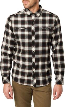 7 Diamonds Jasper Trim Fit Flannel Shirt