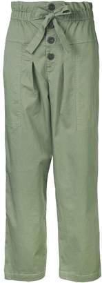 Sea tie waist trousers