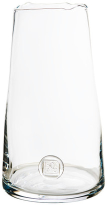 Abigails Tall Medallion Vase, Clear