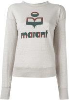 Etoile Isabel Marant Klowia knitted jumper - women - Linen/Flax - M