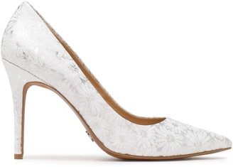 MICHAEL Michael Kors Claire Embossed Leather Pumps