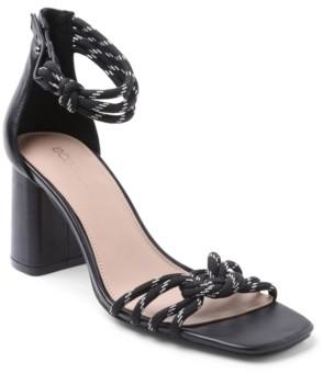 BCBGeneration Telila Block Heel Dress Sandals Women's Shoes