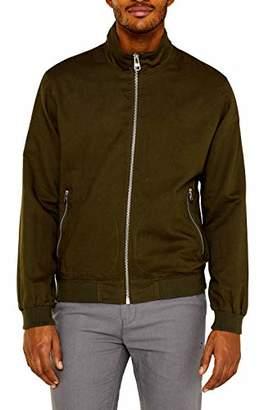 Esprit Men's 049ee2g007 Jacket, (Khaki Green 350), XXX-Large