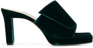 Wandler Isa Plateau 90mm sandals