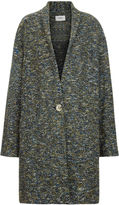 Etoile Isabel Marant Green Bouclé Osbert Shawl Coat