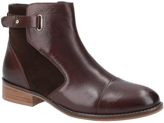 Hush Puppies Hollie Ankle Boots - Brown