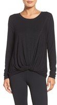 Zella Women's Twist & Breathe Reversible Tee