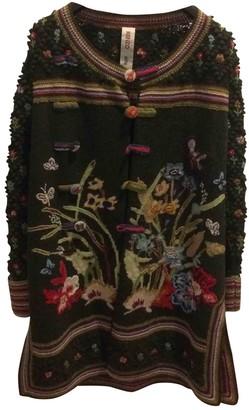 Kenzo Green Wool Knitwear for Women Vintage