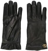 Gucci GG gloves - men - Lamb Skin/Cashmere - 8.5