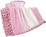 Kids Line Luxury Sherpa Blanket (Pink) by