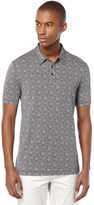 Perry Ellis Short Sleeve Geometric Printed Polo