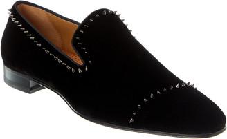 Christian Louboutin Dandelion Velvet Loafer