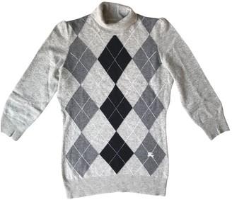 Burberry Grey Cashmere Knitwear for Women