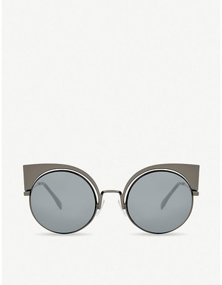 Fendi FF0177 round sunglasses
