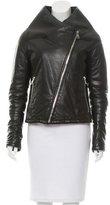 Maison Margiela Leather Puffer Jacket