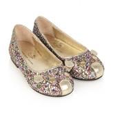 Little Marc Jacobs Little Marc JacobsGirls Sequin Mouse Ballerina Shoes