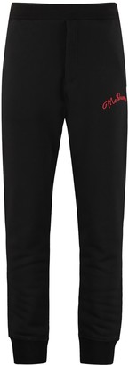 Alexander McQueen Logo Detail Cotton Track-pants