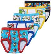 Nintendo Super Mario Bros. 5-Pack Briefs Boys Underwear