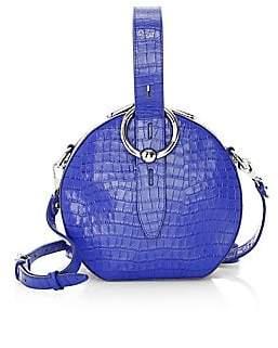 Rebecca Minkoff Women's Kate Crocodile Leather Circle Bag
