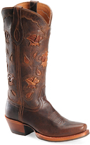 Sonora Red Oak Aliyah Leather Cowboy Boot
