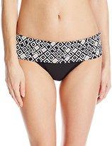 Athena Women's Gold Coast Banded Bikini Bottom