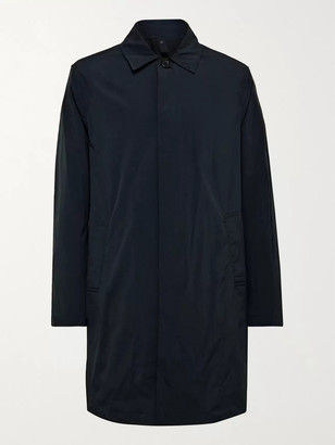 Incotex Urban Traveller Shell Raincoat - Men - Blue