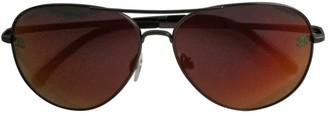 Chanel Orange Metal Sunglasses