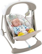 Fisher-Price Deluxe Take-Along Deluxe Swing & Seat - Mocha Swirl