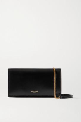 Saint Laurent Leather Shoulder Bag - Black