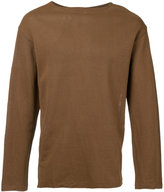 Kaptain Sunshine - round neck top - men - Japanese Paper - 38