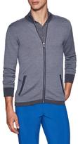 J. Lindeberg Laurent Acmerino Zip Front Sweater
