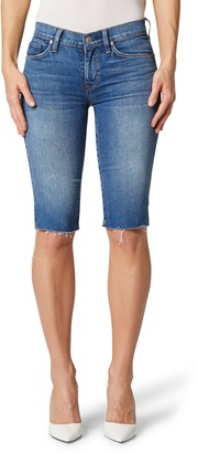 Hudson Amelia Cutoff Knee Denim Shorts